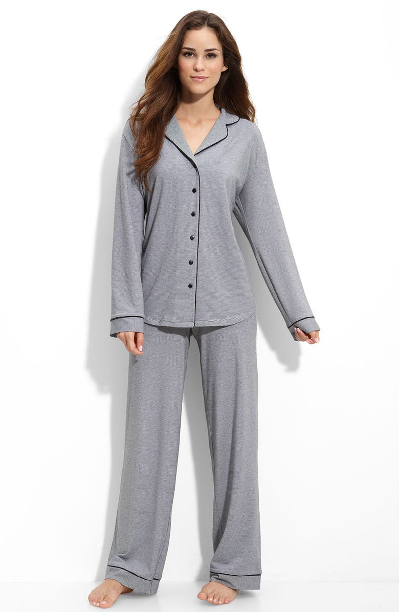 NORDSTROM Knit Pajamas, Main, color, 001