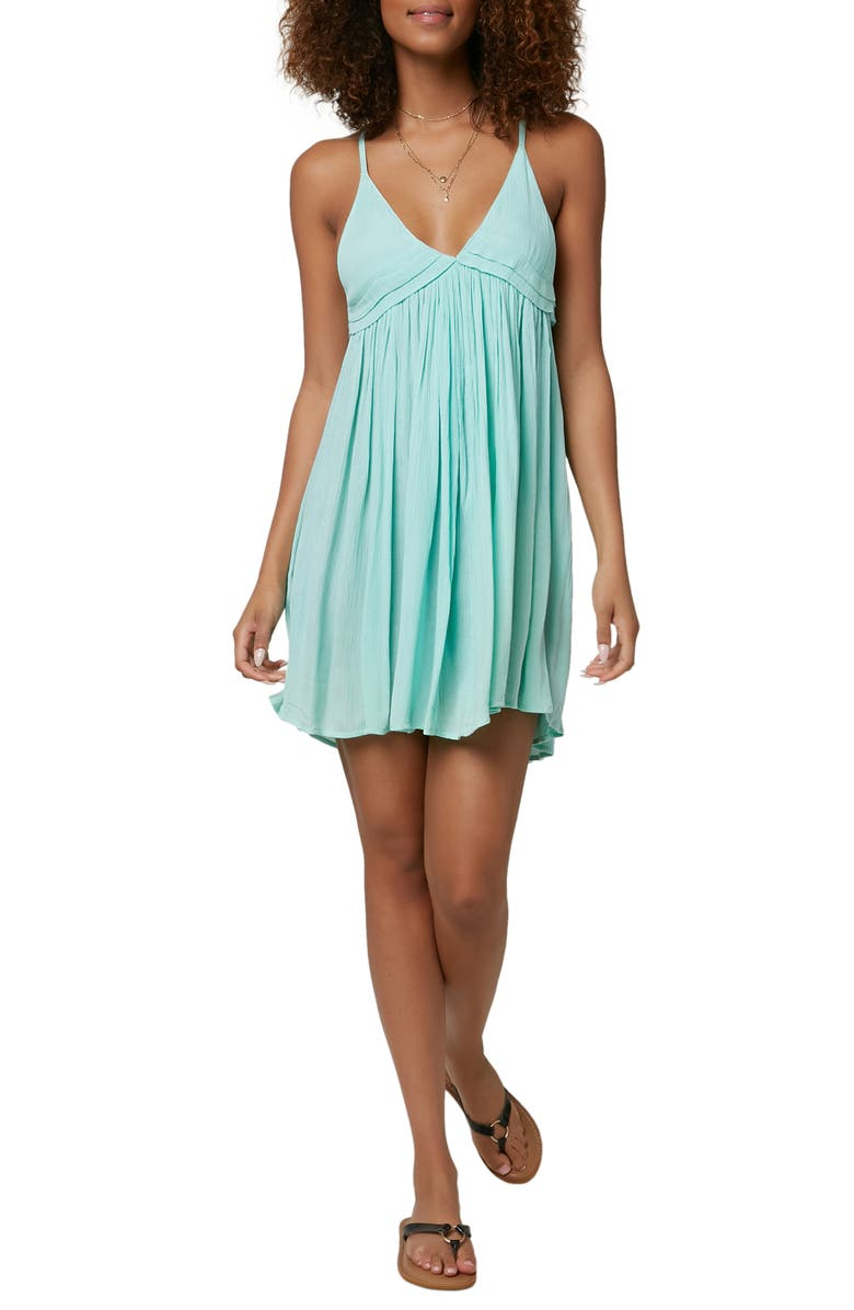 O'NEILL Saltwater Cover-Up Dress, Main, color, SEA GLASS
