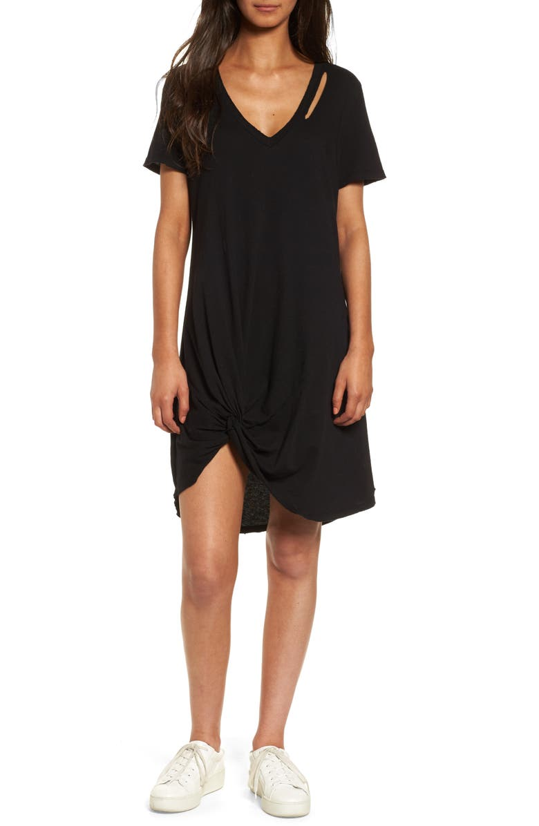 N:PHILANTHROPY n: PHILANTHROPY Morrison T-Shirt Dress, Main, color, 001
