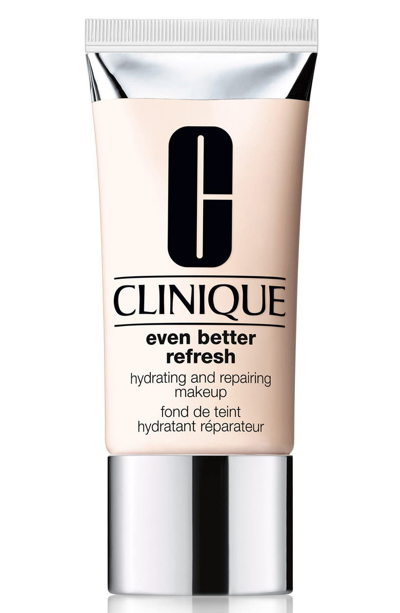CLINIQUE Even Better Refresh Hydrating and Repairing Makeup Full-Coverage Foundation, Main, color, .75 CUSTARD