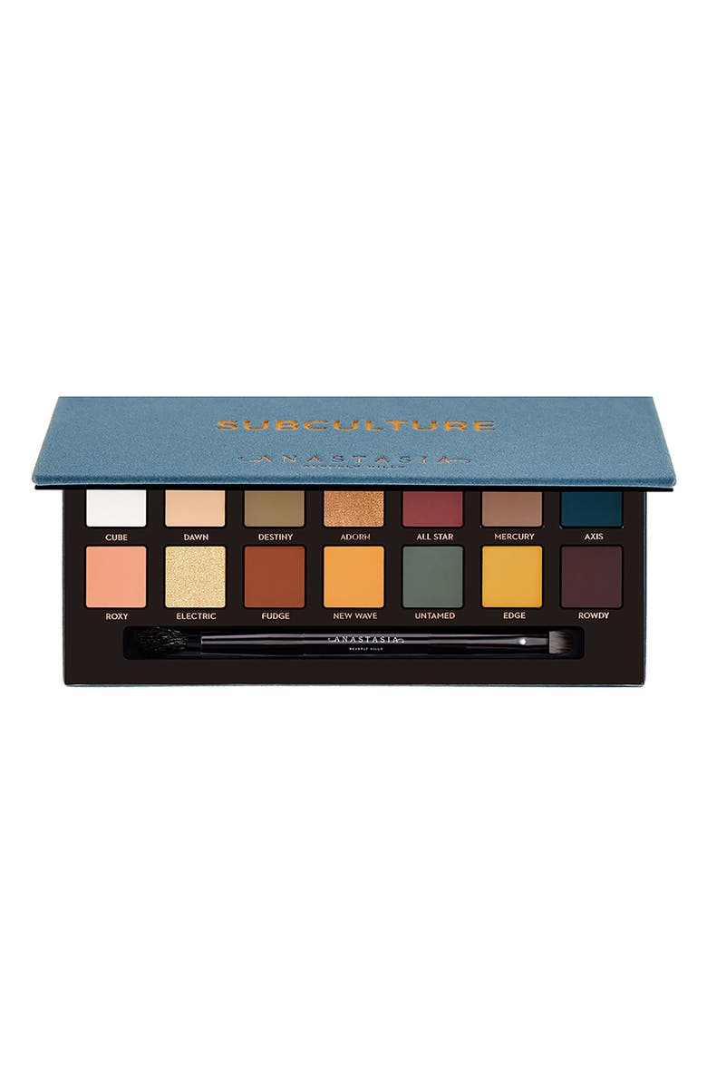 ANASTASIA BEVERLY HILLS Subculture Eyeshadow Palette, Main, color, NONE