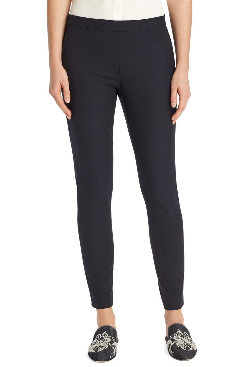 LAFAYETTE 148 NEW YORK Murray Crop Pants, Main, color, INK