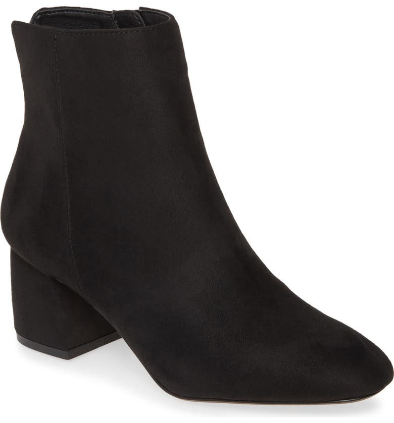 CHINESE LAUNDRY Davinna Bootie, Main, color, BLACK SUEDE