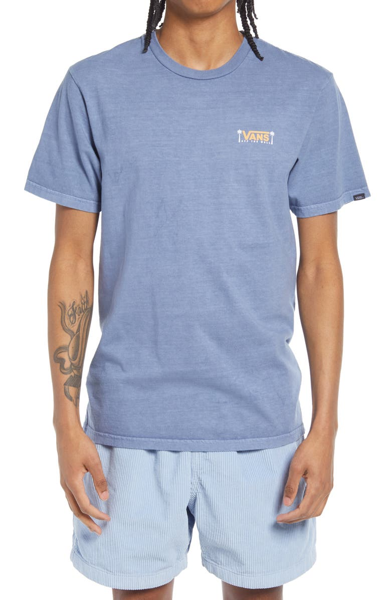 VANS Off the Wall Eventide Graphic Tee, Main, color, INFINITY