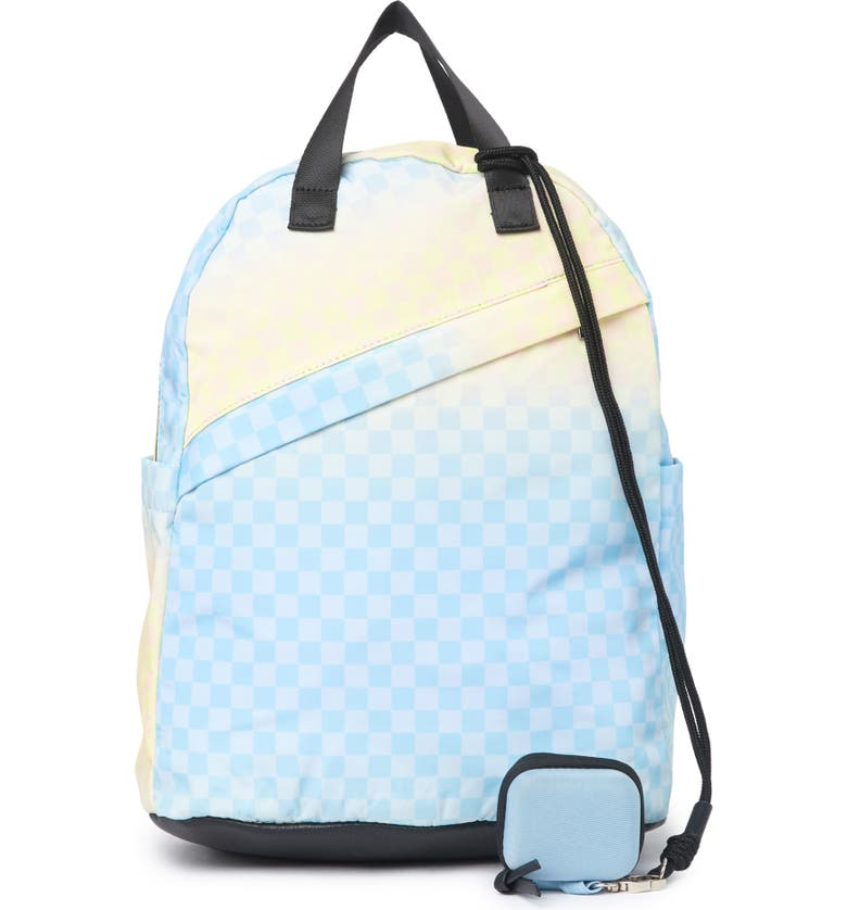 MADDEN GIRL Printed Backpack, Main, color, PASTEL OMBRE CHECKER