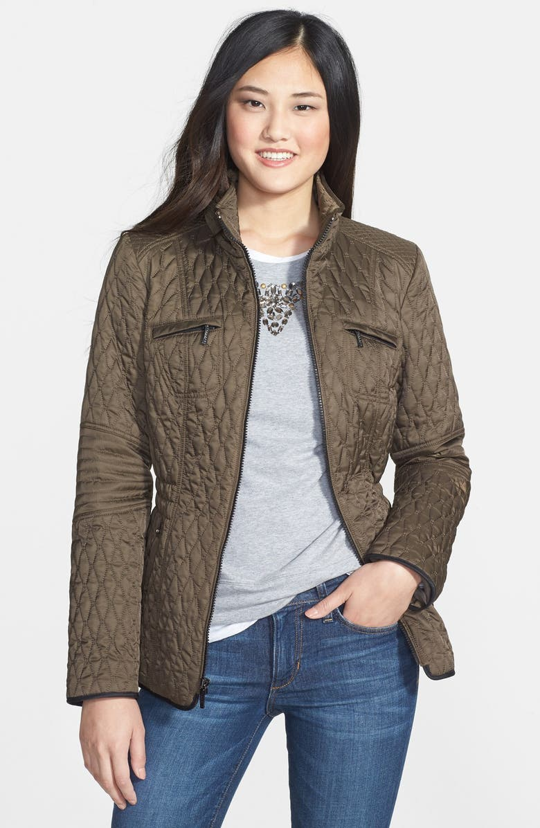 LAUNDRY BY SHELLI SEGAL Packable Quilted Jacket, Main, color, 311