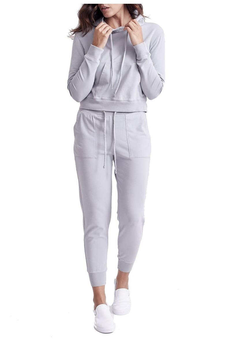 GOODLIFE Cropped Drawstring Hoodie, Main, color, 020