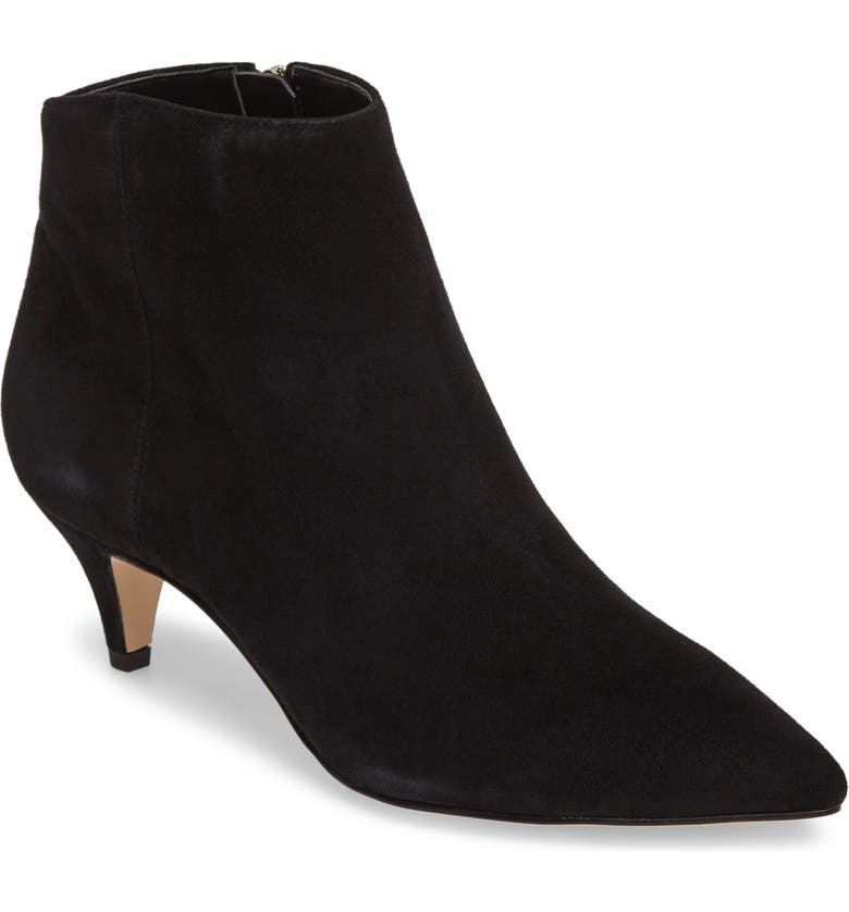 SAM EDELMAN Kinzey Pointy Toe Bootie, Main, color, 001