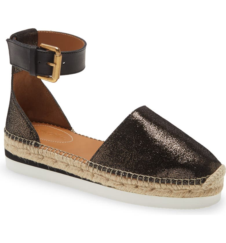 SEE BY CHLOÉ Glyn Espadrille, Main, color, DIAMOND OLIVO NATURAL