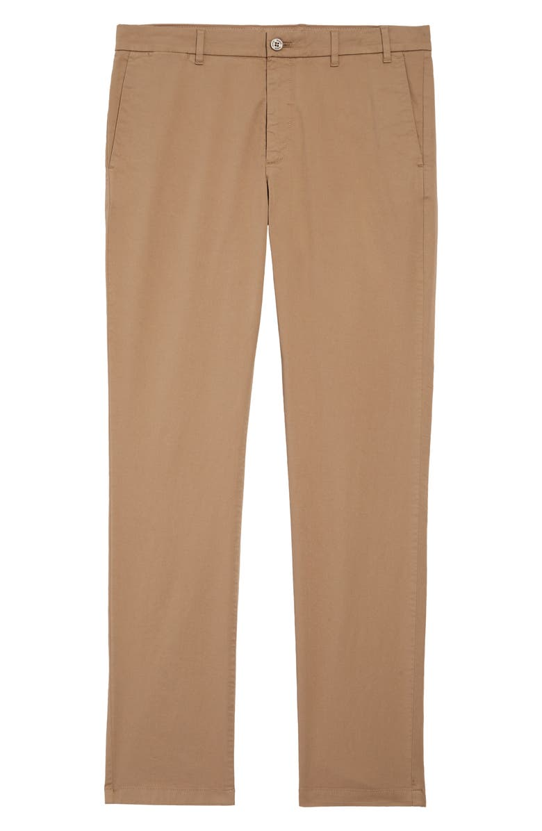 NORSE PROJECTS Aros Slim Fit Stretch Twill Pants, Main, color, UTILITY KHAKI