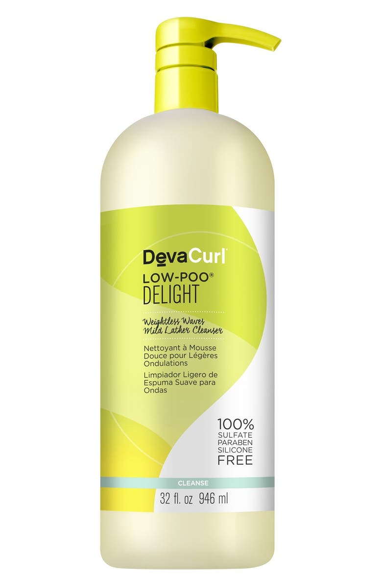DEVACURL Low-Poo<sup>®</sup> Delight Weightless Waves Mild Lather Cleanser, Main, color, No Color