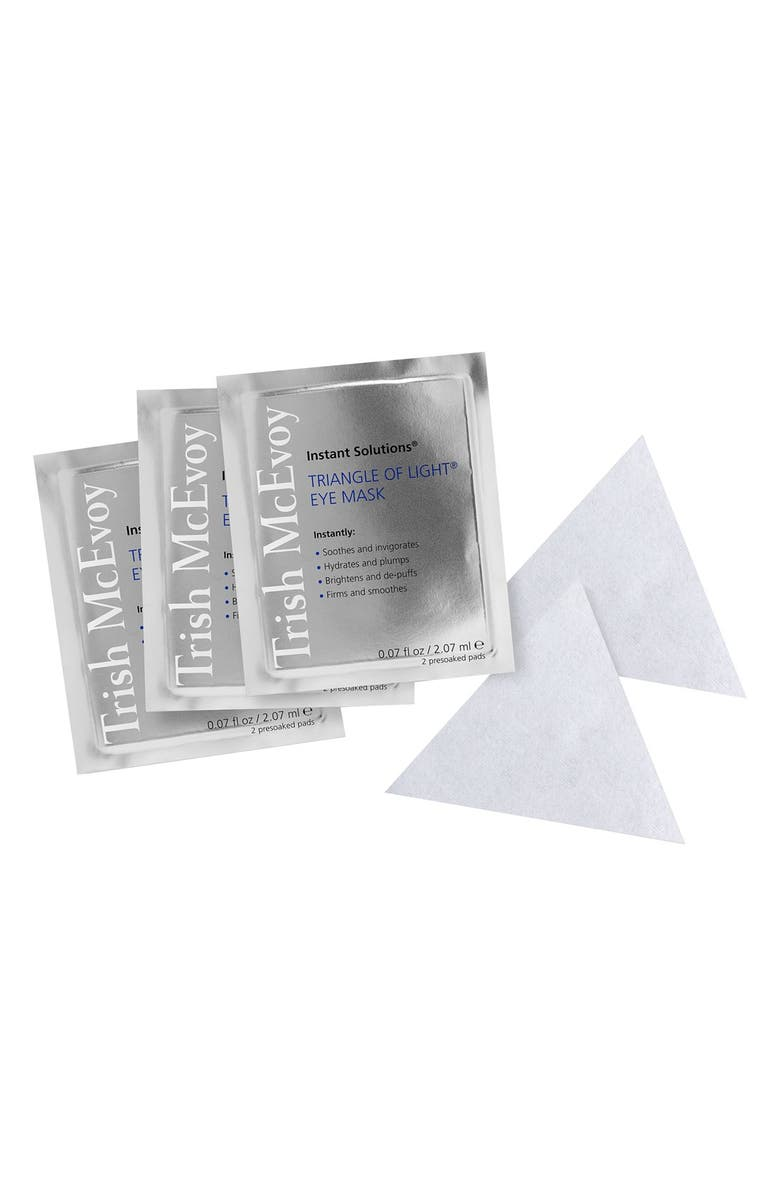 TRISH MCEVOY Instant Solutions<sup>®</sup> Triangle of Light<sup>®</sup> Eye Mask, Main, color, No Color