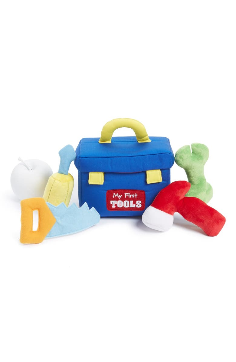 GUND 'My First Toolbox' Plush Play Set, Main, color, 400