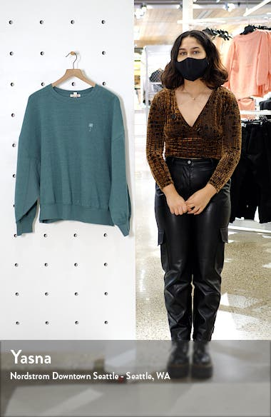 x The Salty Blonde Vacation Mode Oversize Sweatshirt, sales video thumbnail