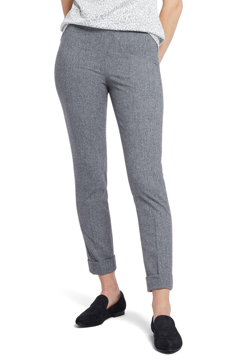 NIC+ZOE Forever Flannel Ankle Pants, Main, color, 020