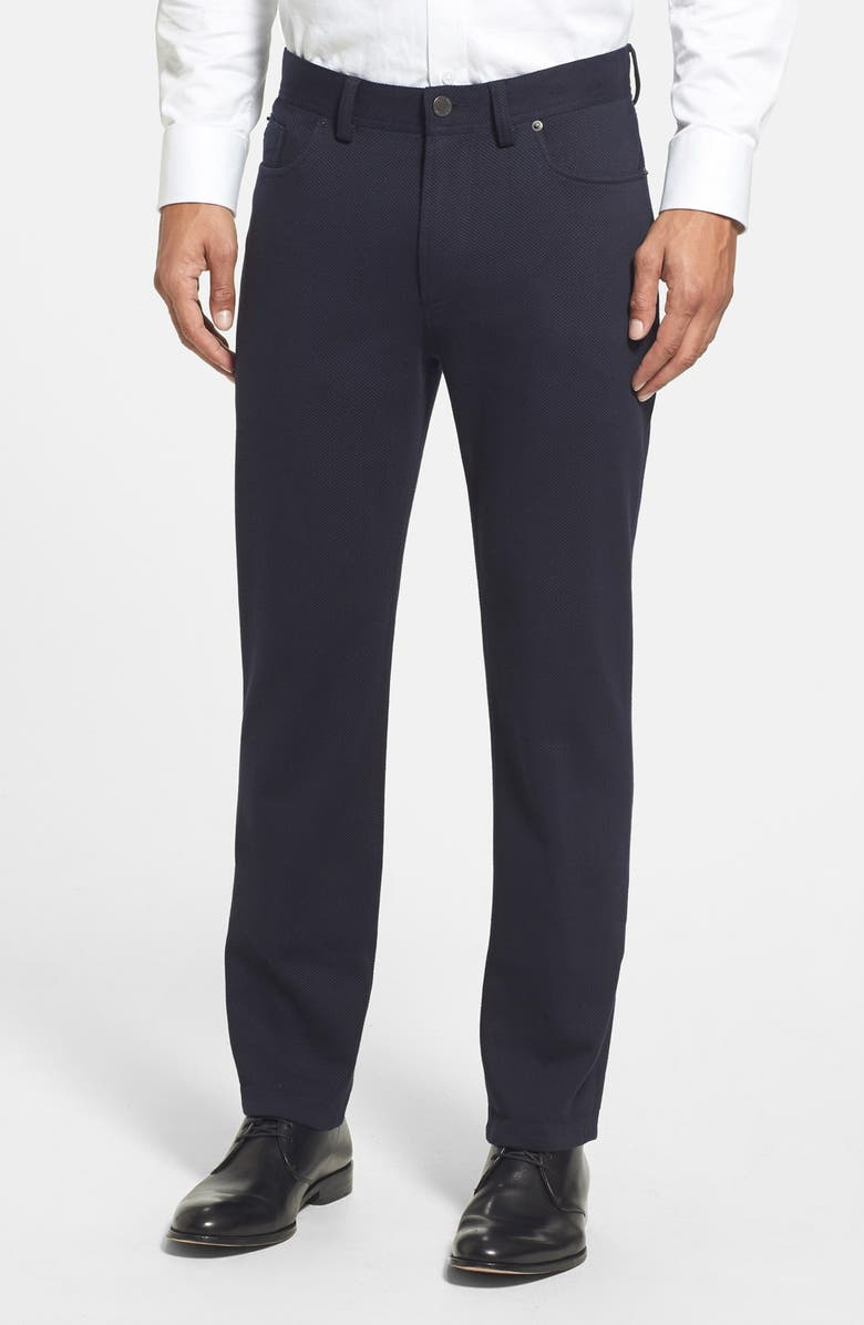 VINCE CAMUTO Slim Fit Five Pocket Stretch Pants, Main, color, 012