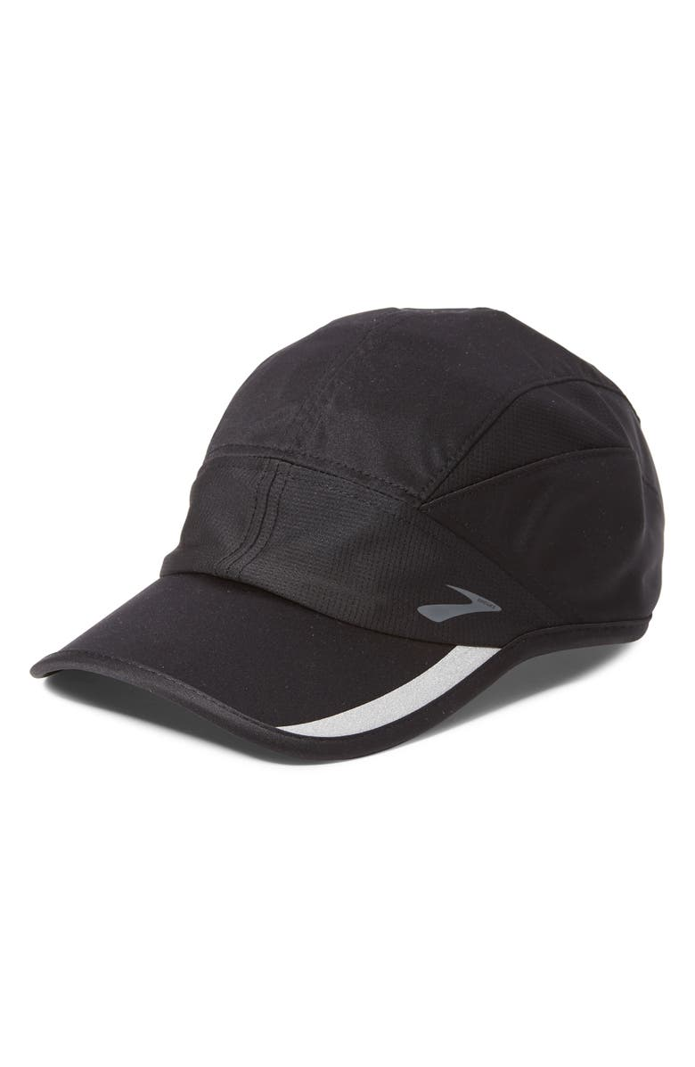 BROOKS PR Lightweight Baseball Cap, Main, color, 001