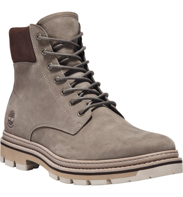 TIMBERLAND Port Union Waterproof Boot, Main, color, OLIVE NUBUCK LEATHER