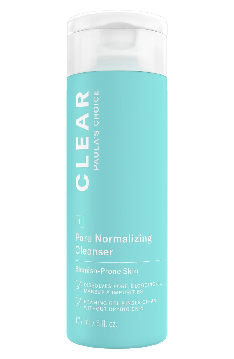 PAULA'S CHOICE Clear Pore Normalizing Cleanser, Main, color, NO COLOR