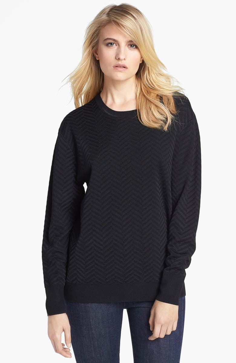 THEORY 'Hannalor P.' Wool Blend Sweater, Main, color, 013