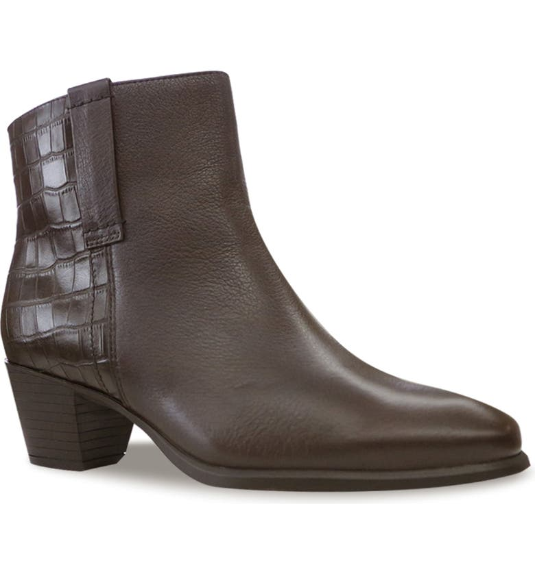 MUNRO Karsyn Bootie, Main, color, BROWN LEATHER