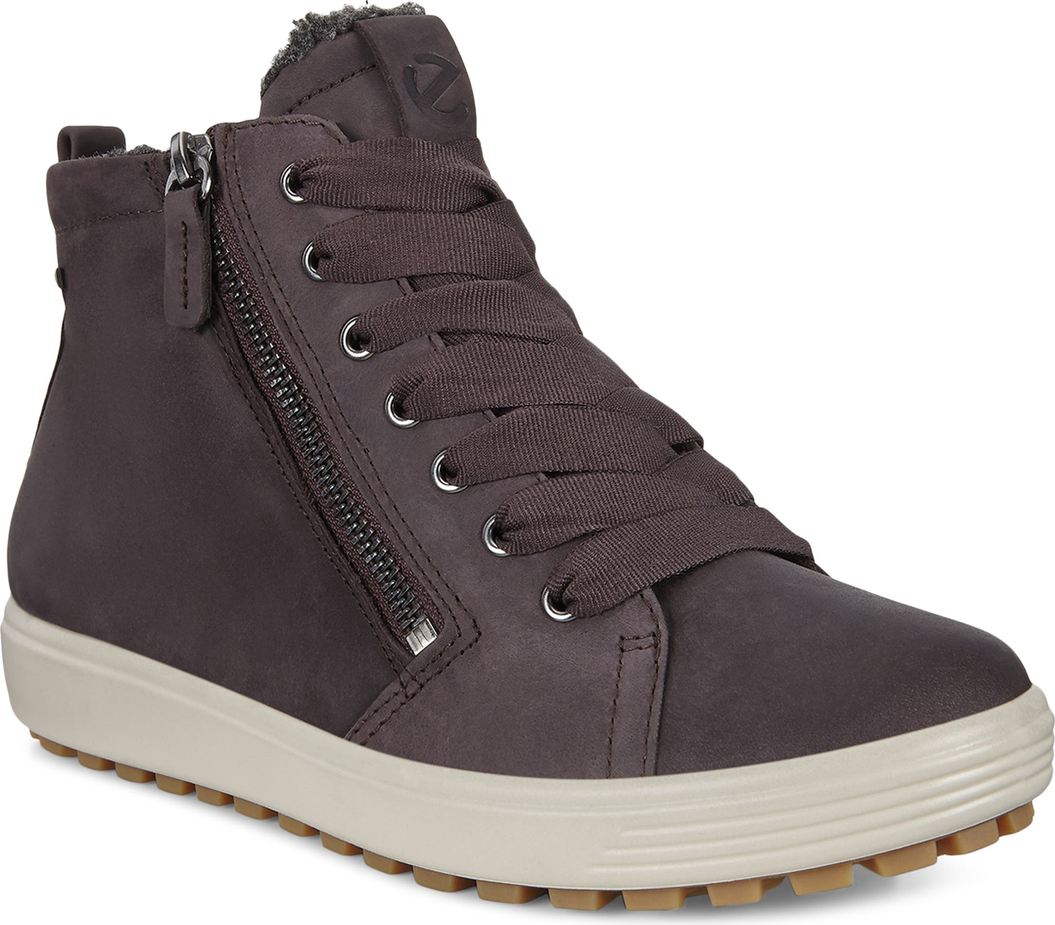 ECCO Soft 7 Tred Lace up Boots Ankle Boots Gore-Tex Braun