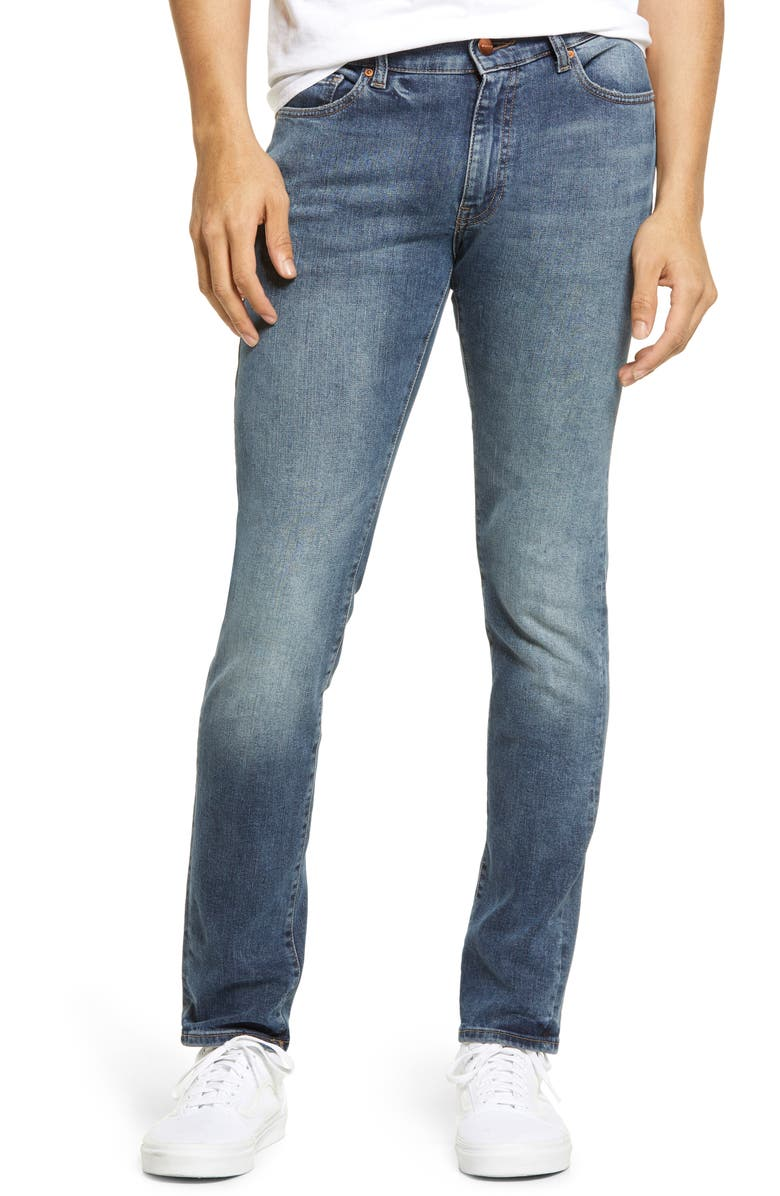 WARP+WEFT HND Slim Fit Skinny Jeans, Main, color, MISSION