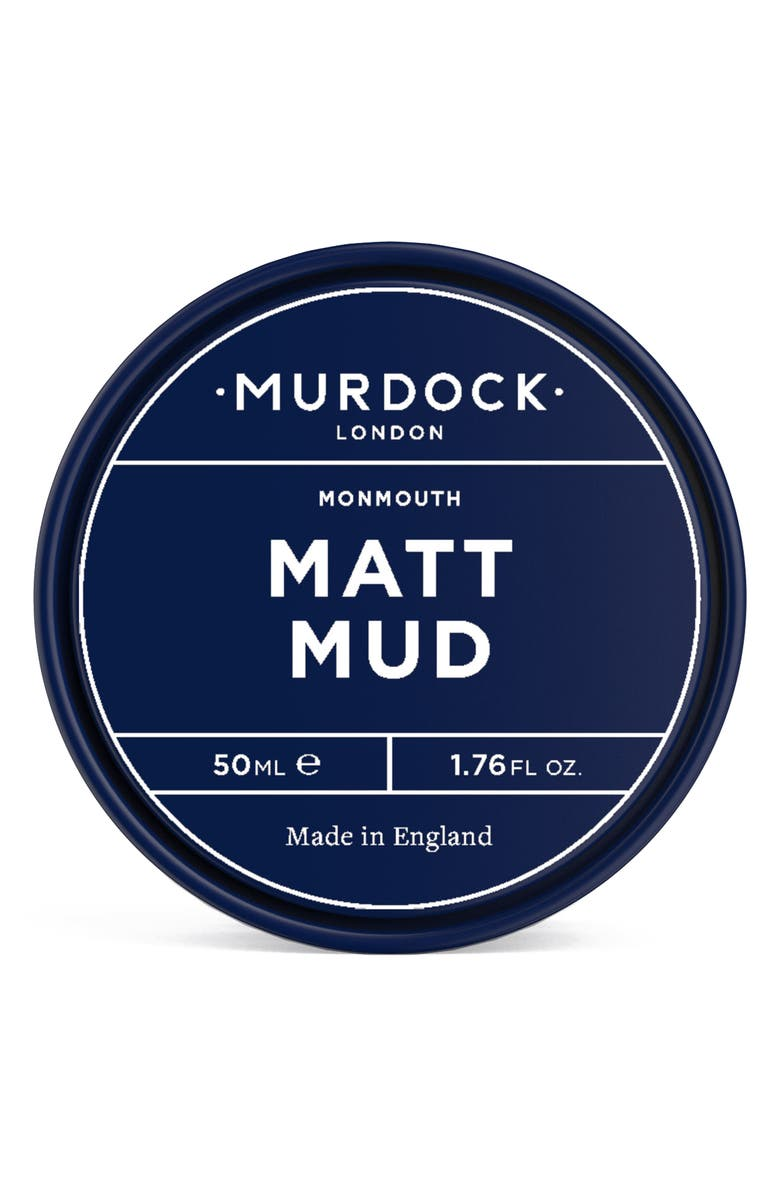 MURDOCK LONDON Matt Mud Hair Clay, Main, color, No Color