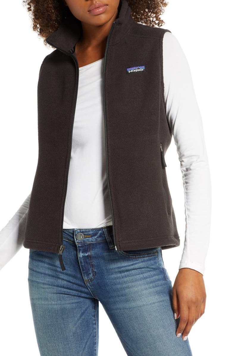 PATAGONIA Classic Synchilla<sup>®</sup> Recycled Fleece Vest, Main, color, 001