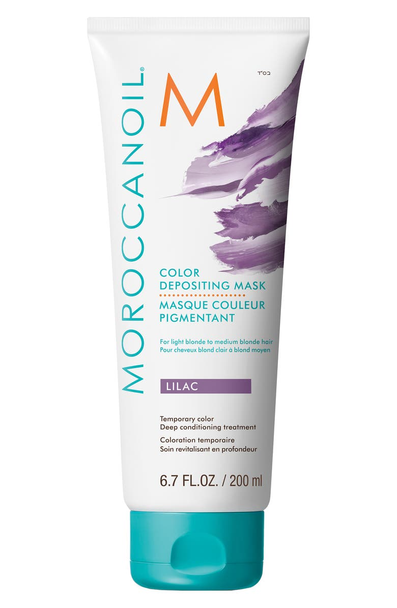 MOROCCANOIL<SUP>®</SUP> Color Depositing Mask Temporary Color Deep Conditioning Treatment, Main, color, LILAC