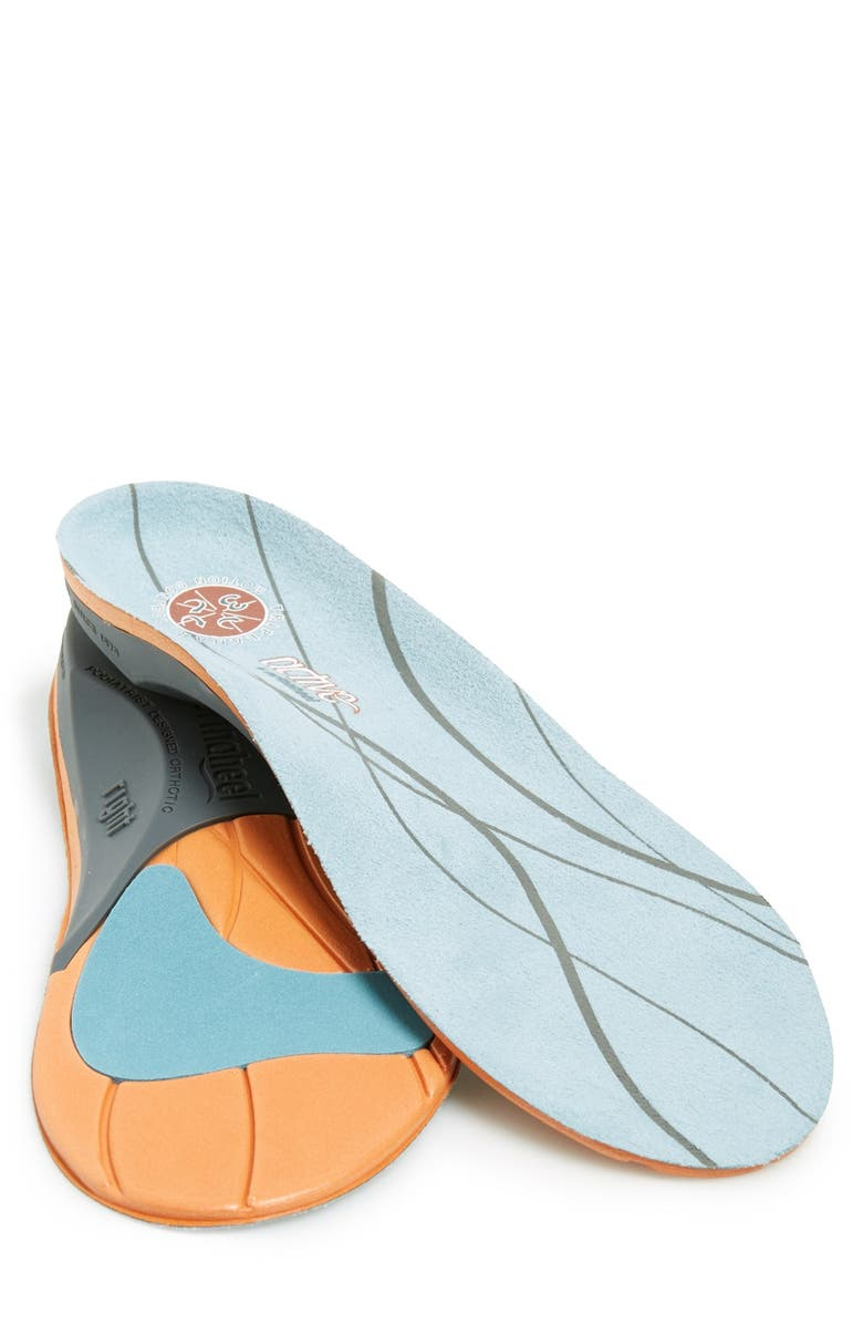 VIONIC 'Active' Full-Length Orthotic Insole, Main, color, GREY