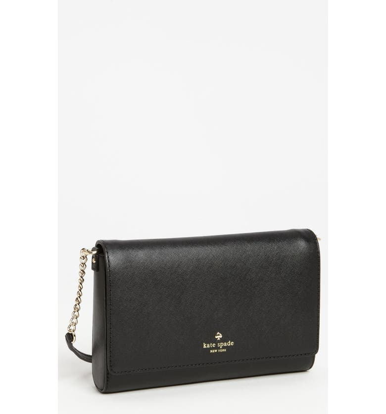 KATE SPADE NEW YORK 'charlotte street - angela' clutch, Main, color, 001