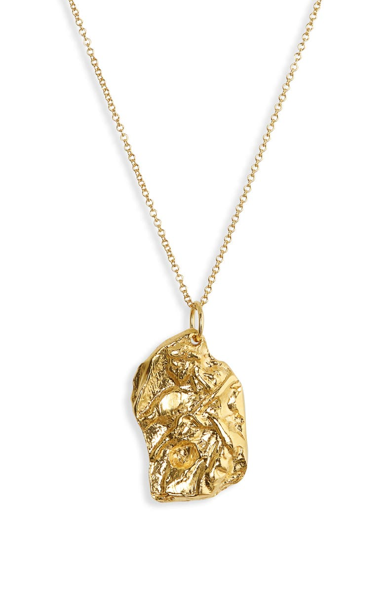ALIGHIERI The Fragmented Imagination Necklace, Main, color, GOLD