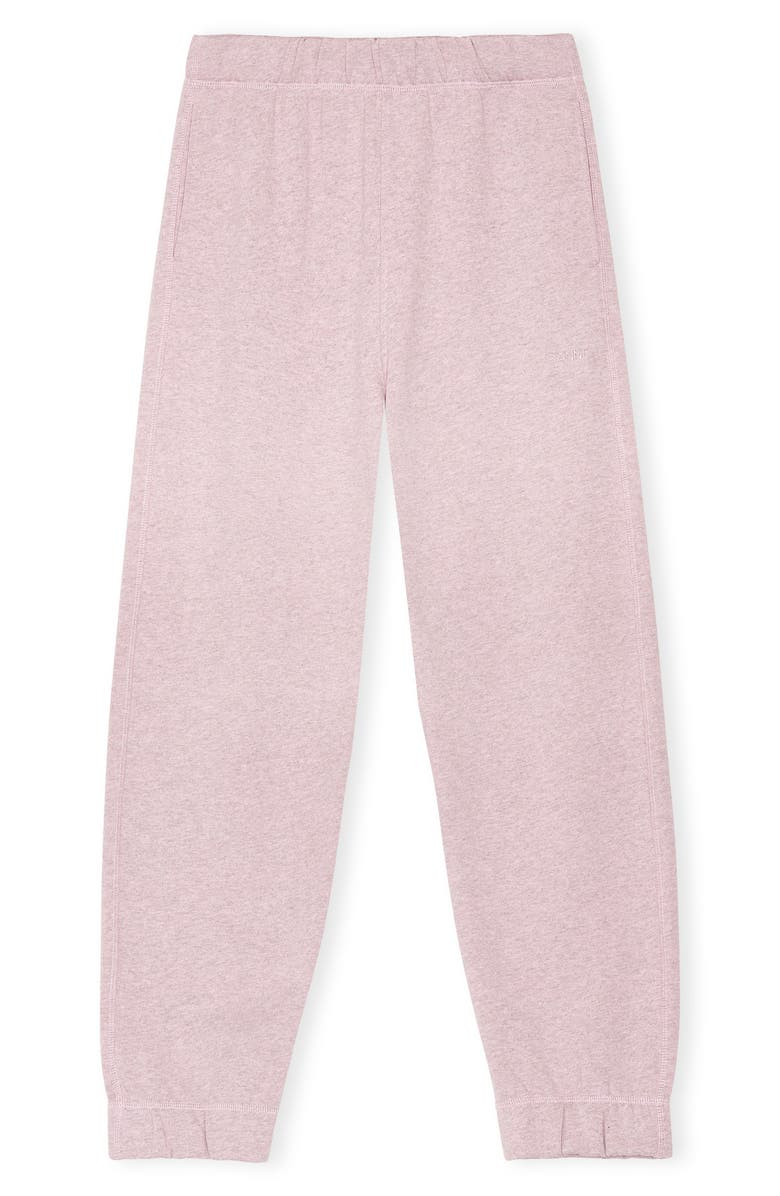 GANNI Software Isoli Sweatpants, Main, color, PALE LILAC