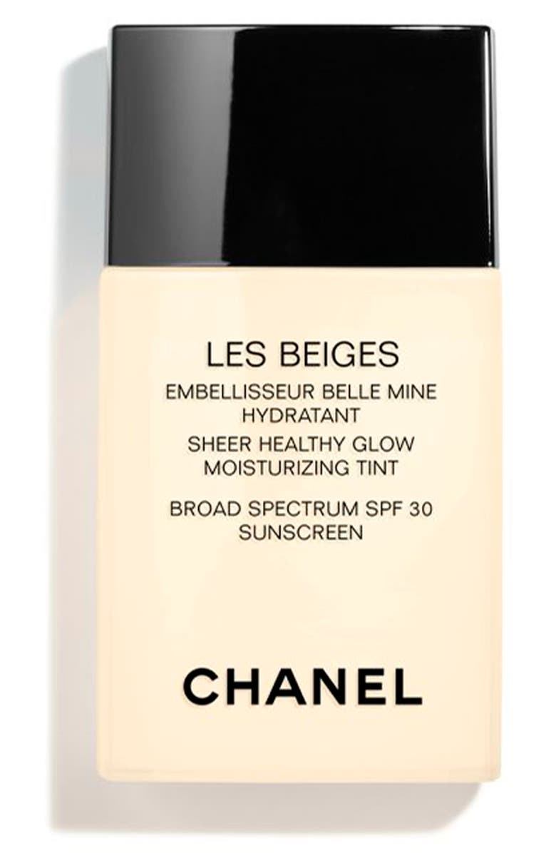 CHANEL LES BEIGES SHEER HEALTHY GLOW <br />Moisturizing Tint Broad Spectrum SPF 30, Main, color, LIGHT