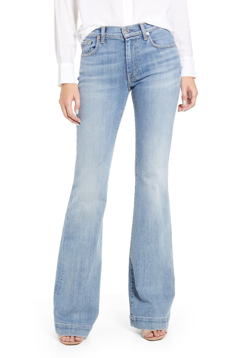 7 FOR ALL MANKIND<SUP>®</SUP> Dojo High Waist Flare Jeans, Main, color, 401
