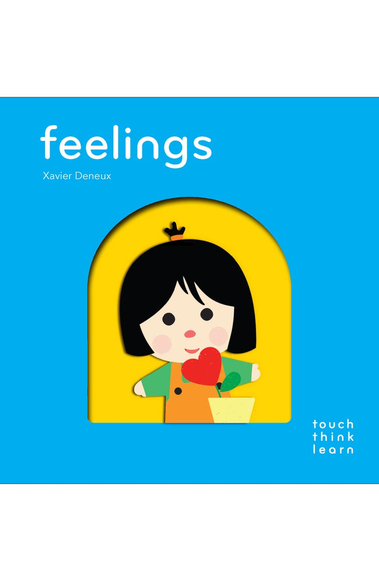 CHRONICLE BOOKS 'TouchThinkLearn: Feelings' Board Book, Main, color, MULTI