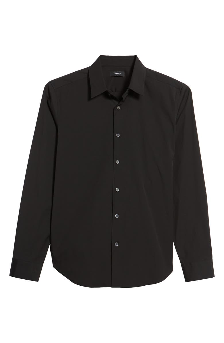 THEORY Sylvain Slim Fit Button-Up Dress Shirt, Main, color, 001