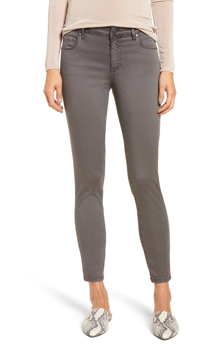 KUT FROM THE KLOTH Donna Ankle Skinny Jeans, Main, color, MAGNET GREY