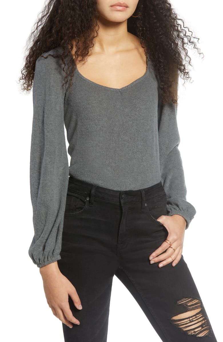 PST BY PROJECT SOCIAL T Long Sleeve Top, Main, color, 010