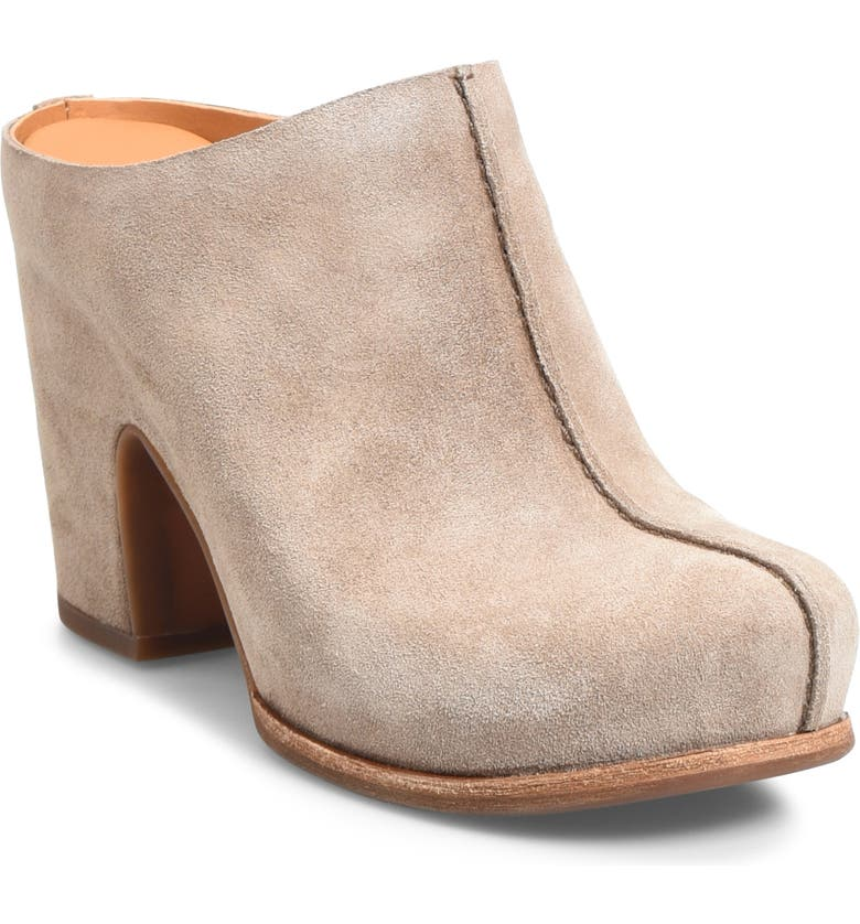 KORK-EASE<SUP>®</SUP> Sagano Clog, Main, color, TAUPE SUEDE