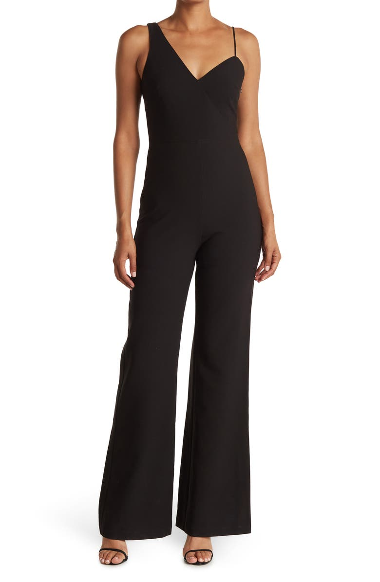LIKELY Kendra Jumpsuit, Main, color, BLACK
