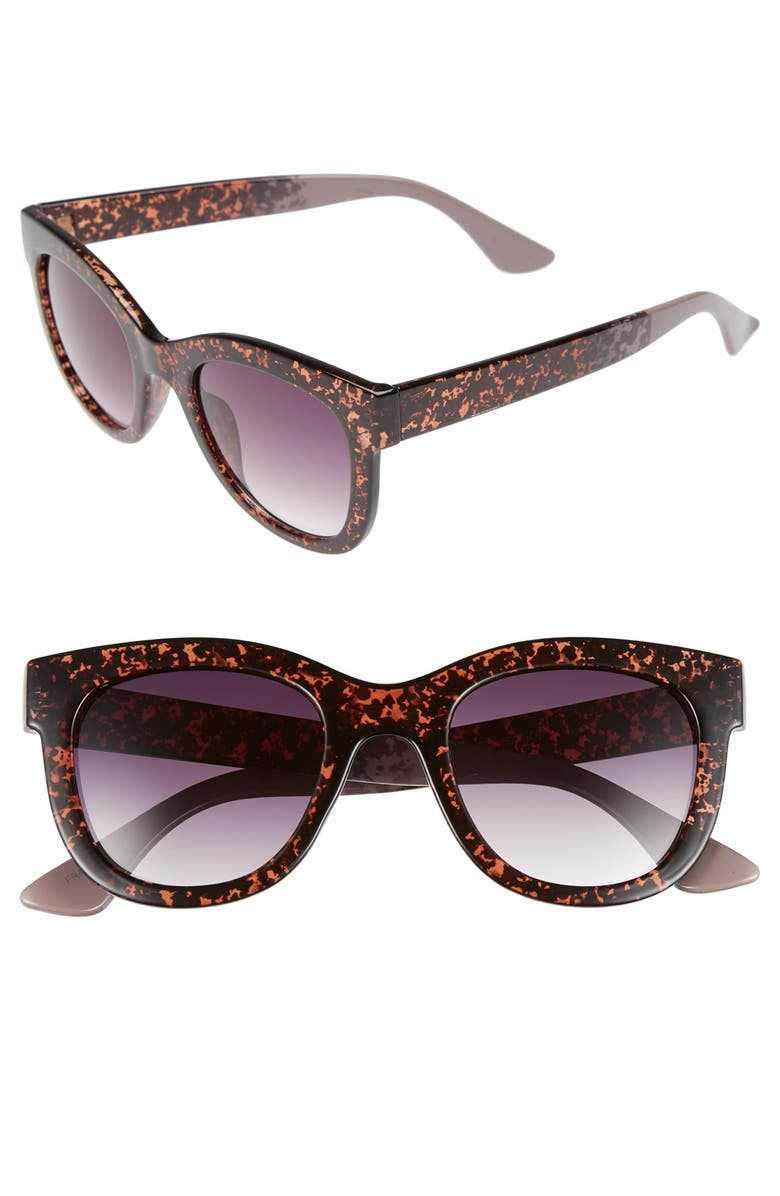 FANTASEYES Fantas Eyes 50mm Retro Sunglasses, Main, color, 200