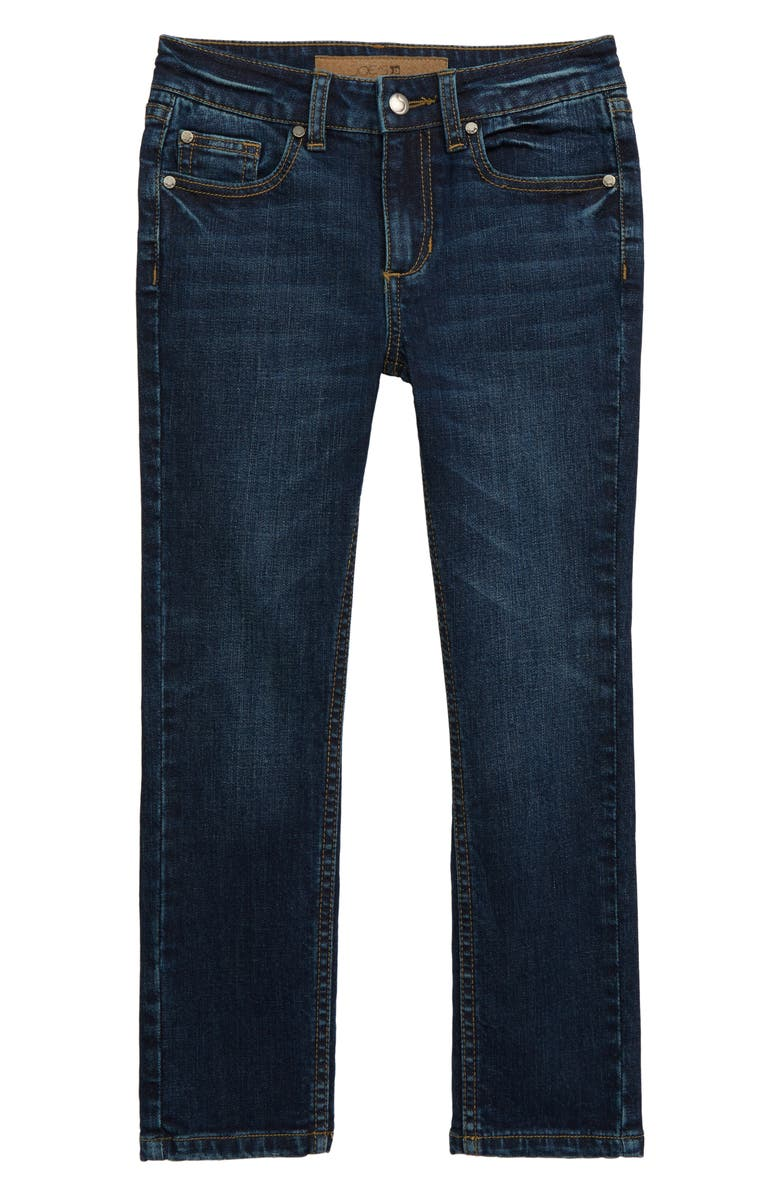 JOE'S Kids' Brixton Straight Leg Stretch Jeans, Main, color, HERITAGE BLUE