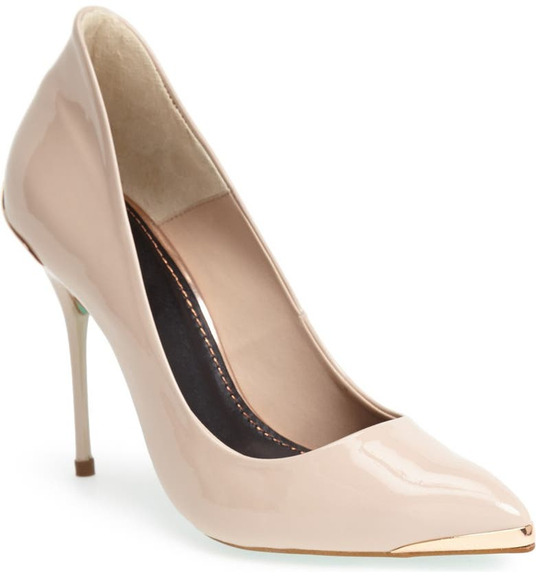TOPSHOP by CJG 'High Pitch' Patent Leather Pump, Main, color, 250