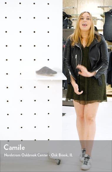 Chrissy Genuine Shearling Lined Mule, sales video thumbnail