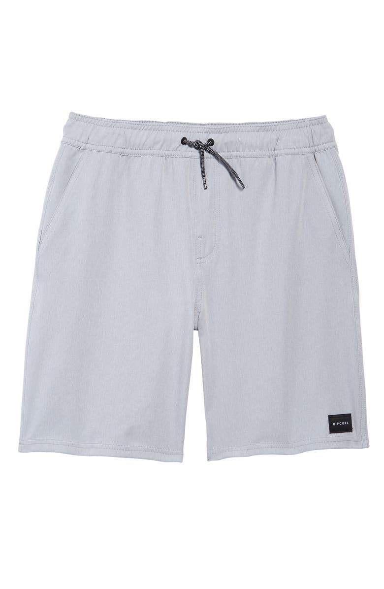 RIP CURL Great Scott Volley Shorts, Main, color, BLUE