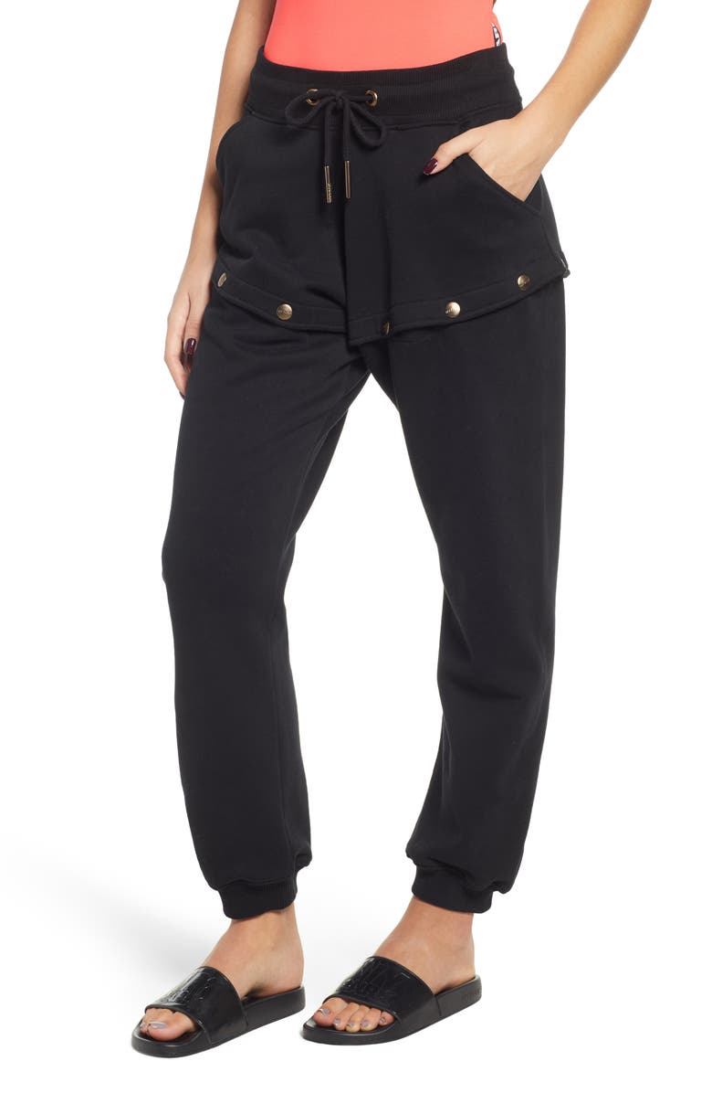 IVY PARK<SUP>®</SUP> Armour Popper Convertible Joggers, Main, color, 001