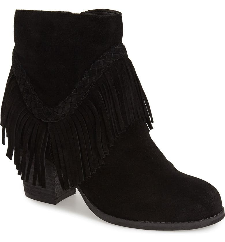 SBICCA 'Patience' Boot, Main, color, BLACK SUEDE