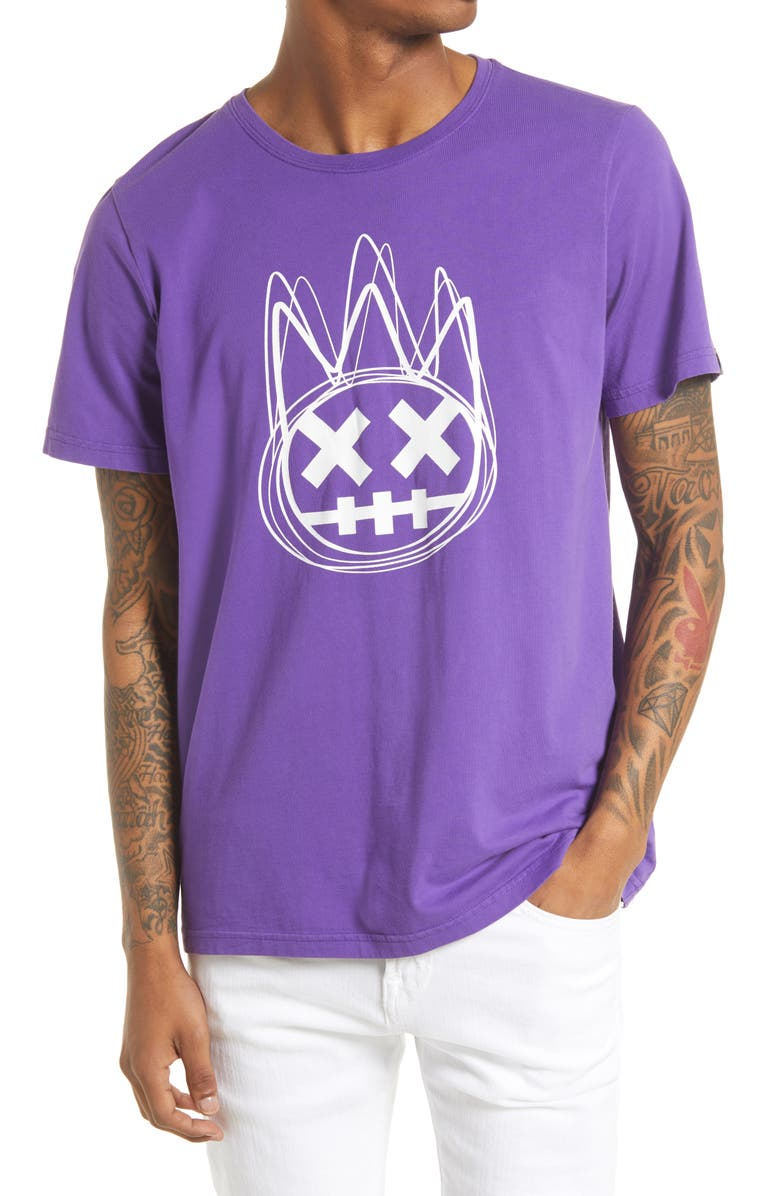 CULT OF INDIVIDUALITY Shimuchan Graphic Tee, Main, color, ROYAL PURPLE
